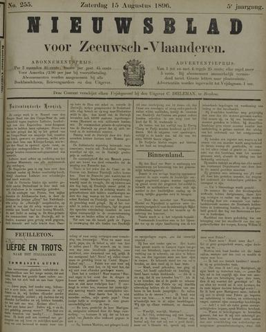 Nieuwsblad voor Zeeuwsch-Vlaanderen 1896-08-15