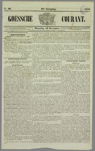 Goessche Courant 1859-12-12