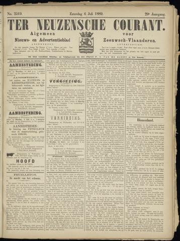 Ter Neuzensche Courant. Algemeen Nieuws- en Advertentieblad voor Zeeuwsch-Vlaanderen / Neuzensche Courant ... (idem) / (Algemeen) nieuws en advertentieblad voor Zeeuwsch-Vlaanderen 1889-07-06