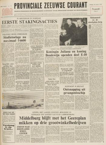 Provinciale Zeeuwse Courant 1972-01-18