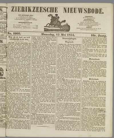 Zierikzeesche Nieuwsbode 1854-05-15
