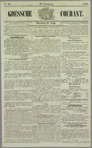 Goessche Courant 1859-06-20