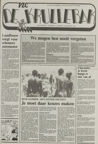 Provinciale Zeeuwse Courant katern Krullenbak (1981-1999) 1989-02-14