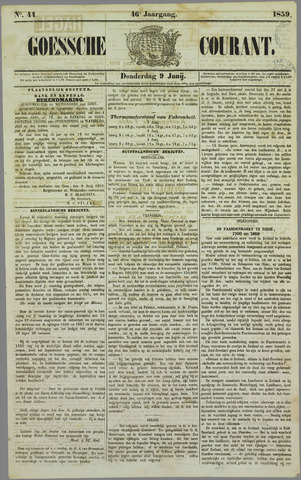 Goessche Courant 1859-06-09