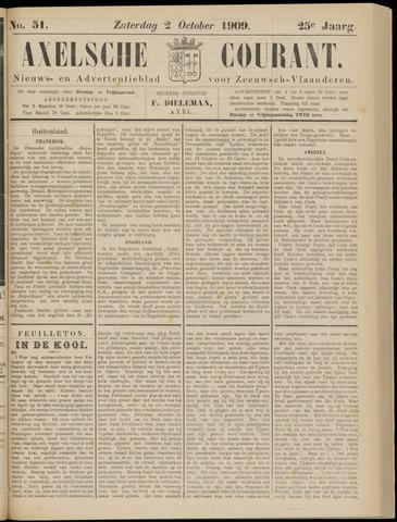 Axelsche Courant 1909-10-02