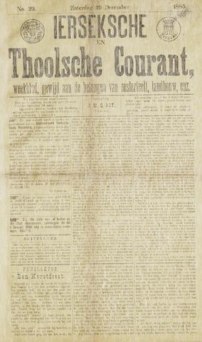 Ierseksche en Thoolsche Courant 1885-12-19