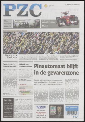 Provinciale Zeeuwse Courant 2014-03-13