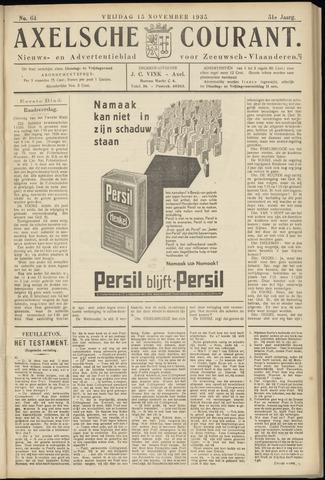 Axelsche Courant 1935-11-15