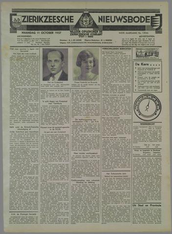 Zierikzeesche Nieuwsbode 1937-10-11