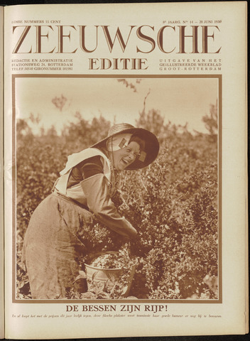 Ons Zeeland / Zeeuwsche editie 1930-06-20