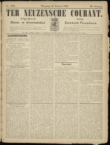 Ter Neuzensche Courant. Algemeen Nieuws- en Advertentieblad voor Zeeuwsch-Vlaanderen / Neuzensche Courant ... (idem) / (Algemeen) nieuws en advertentieblad voor Zeeuwsch-Vlaanderen 1883-02-28