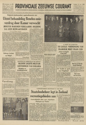 Provinciale Zeeuwse Courant 1959-11-13