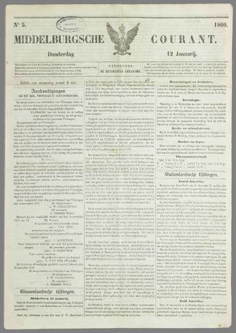 Middelburgsche Courant 1860-01-12