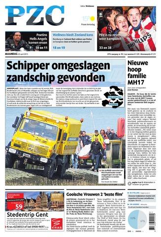 Provinciale Zeeuwse Courant 2015-04-20