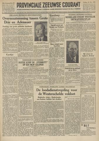 Provinciale Zeeuwse Courant 1951-11-23