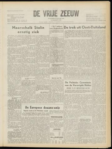 de Vrije Zeeuw 1953-03-05