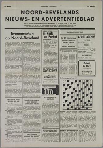 Noord-Bevelands Nieuws- en advertentieblad 1986-06-05