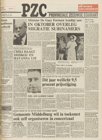 Provinciale Zeeuwse Courant 1974-09-12