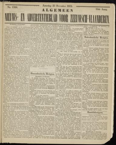 Ter Neuzensche Courant. Algemeen Nieuws- en Advertentieblad voor Zeeuwsch-Vlaanderen / Neuzensche Courant ... (idem) / (Algemeen) nieuws en advertentieblad voor Zeeuwsch-Vlaanderen 1875-12-25