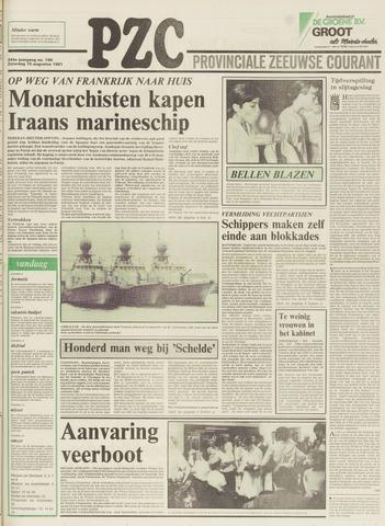 Provinciale Zeeuwse Courant 1981-08-15