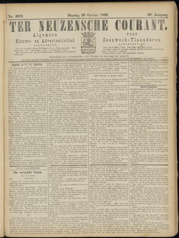 Ter Neuzensche Courant. Algemeen Nieuws- en Advertentieblad voor Zeeuwsch-Vlaanderen / Neuzensche Courant ... (idem) / (Algemeen) nieuws en advertentieblad voor Zeeuwsch-Vlaanderen 1900-10-30