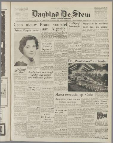 de Stem 1959-01-16