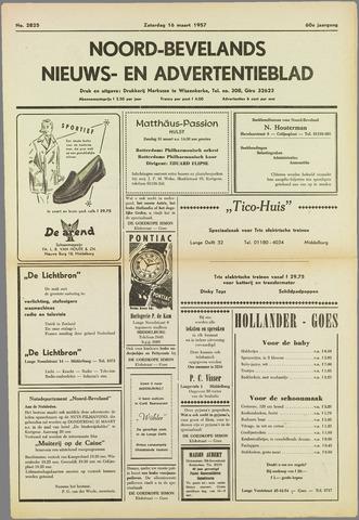 Noord-Bevelands Nieuws- en advertentieblad 1957-03-16