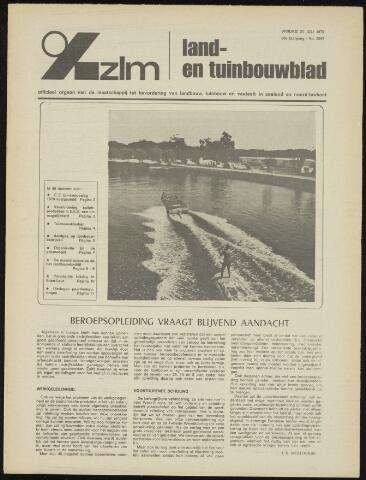 Zeeuwsch landbouwblad ... ZLM land- en tuinbouwblad 1970-07-29