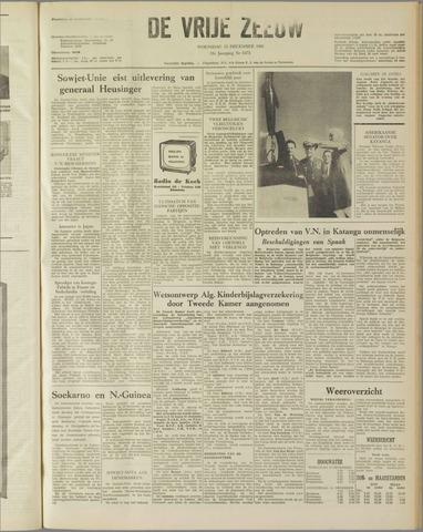 de Vrije Zeeuw 1961-12-13
