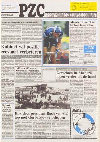 Provinciale Zeeuwse Courant 1989-07-19