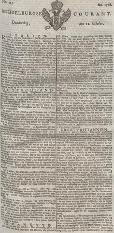 Middelburgsche Courant 1778-10-22