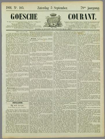 Goessche Courant 1891-09-05