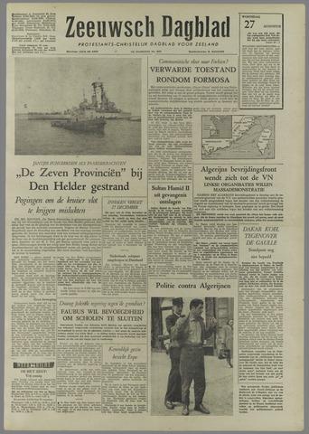 Zeeuwsch Dagblad 1958-08-27