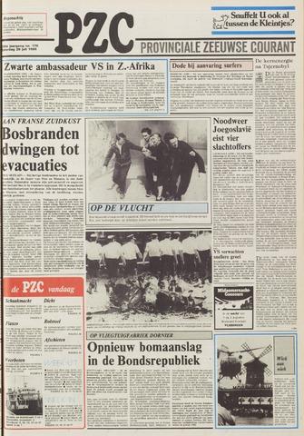 Provinciale Zeeuwse Courant 1986-07-26