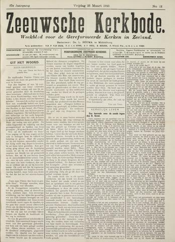 Zeeuwsche kerkbode, weekblad gewijd aan de belangen der gereformeerde kerken/ Zeeuwsch kerkblad 1923-03-23