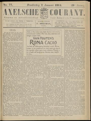 Axelsche Courant 1914
