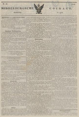 Middelburgsche Courant 1844-04-16