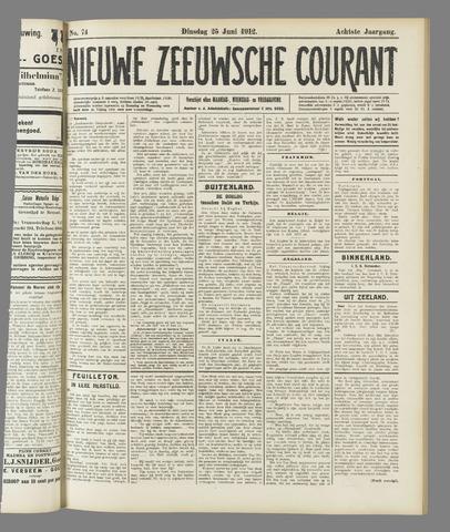 Nieuwe Zeeuwsche Courant 1912-06-25
