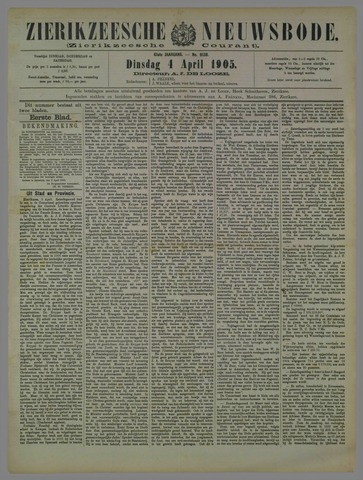 Zierikzeesche Nieuwsbode 1905-04-04