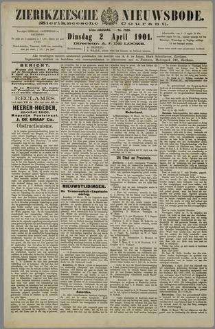 Zierikzeesche Nieuwsbode 1901-04-02