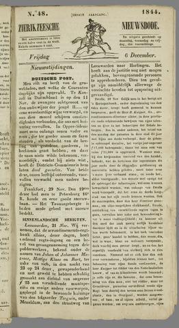 Zierikzeesche Nieuwsbode 1844-12-06
