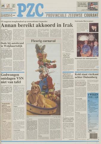 Provinciale Zeeuwse Courant 1998-02-23