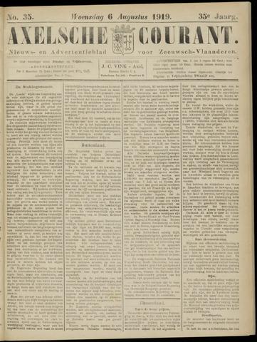 Axelsche Courant 1919-08-06