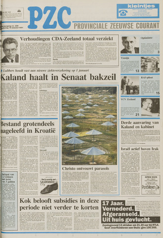 Provinciale Zeeuwse Courant 1991-10-10