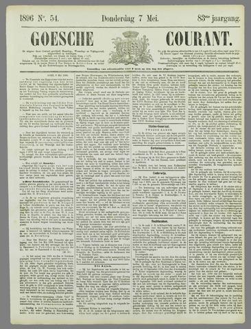 Goessche Courant 1896-05-07