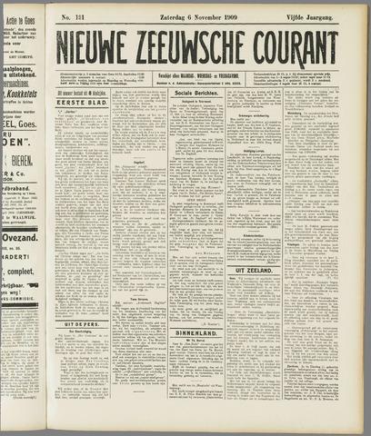 Nieuwe Zeeuwsche Courant 1909-11-06