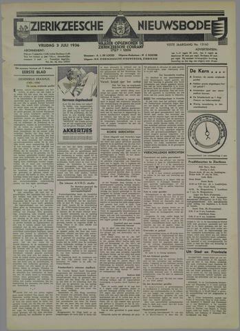 Zierikzeesche Nieuwsbode 1936-07-03