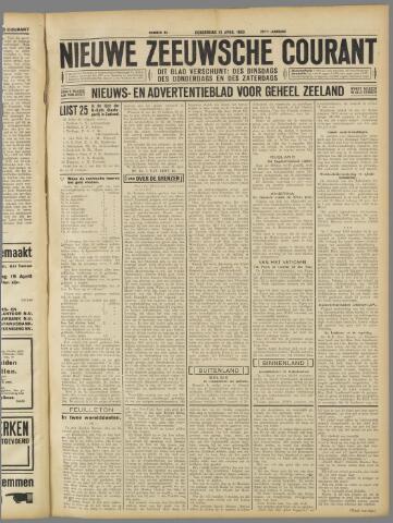 Nieuwe Zeeuwsche Courant 1933-04-13