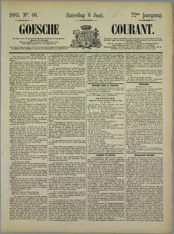 Goessche Courant 1885-06-06