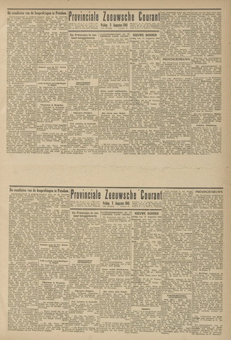 Provinciale Zeeuwse Courant 1945-08-03